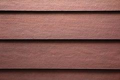 Fondo de madera artificial de la pared Fotos de archivo libres de regalías