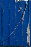Fondo de madera azul Imagen de archivo libre de regalías