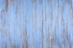 Fondo de madera azul rústico Foto de archivo libre de regalías
