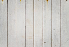 Fondo de madera blanco Fotografía de archivo