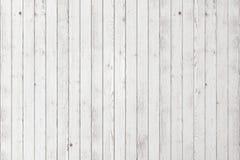 Fondo de madera blanco Foto de archivo libre de regalías