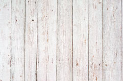 Fondo de madera blanco de la textura Foto de archivo
