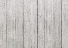 Fondo de madera blanco de los tablones, textura de madera, pared del piso Foto de archivo libre de regalías