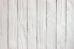 Fondo de madera blanco del panel listo para el montaje de la exhibición del producto Imagen de archivo