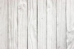 Fondo de madera blanco del panel listo para el montaje de la exhibición del producto Fotos de archivo libres de regalías