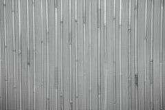Fondo de madera caliente natural con el bambú y la paja Fotos de archivo libres de regalías