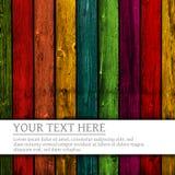 Fondo de madera colorido Imágenes de archivo libres de regalías