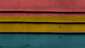 Fondo de madera colorido Fotos de archivo libres de regalías