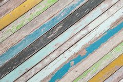 Fondo de madera colorido Fotos de archivo