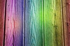 Fondo de madera colorido Imagen de archivo