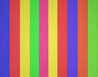 Fondo de madera colorido de la textura de la pared Imágenes de archivo libres de regalías
