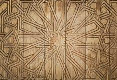 Fondo de madera con la talla, modelo para el trabajo de arte del diseño Fotos de archivo