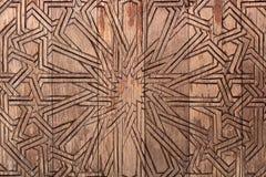 Fondo de madera con la talla, modelo para el trabajo de arte del diseño Foto de archivo libre de regalías