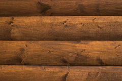 Fondo de madera con los tableros horizontales Fotografía de archivo