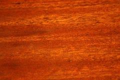 Fondo de madera de caoba del grano Fotos de archivo libres de regalías