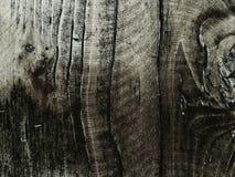 fondo de madera de la cerca, extracto de madera asombroso blanco del efect del negro del papel pintado de la textura Fotos de archivo