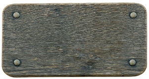 Fondo de madera de la muestra del Nameboard Fotografía de archivo libre de regalías