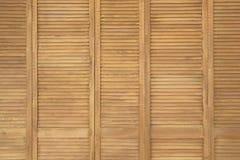 Fondo de madera de la pared del panel de la textura Imagen de archivo libre de regalías