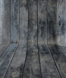 Fondo de madera de la perspectiva de la textura Fotografía de archivo