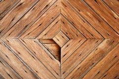 Fondo de madera de la puerta Fotografía de archivo libre de regalías
