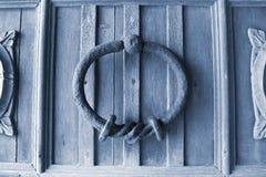 Fondo de madera de la puerta Fotos de archivo libres de regalías