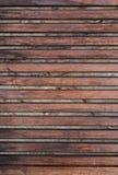 Fondo de madera de la textura con los huecos, lineas horizontales, composición vertical Fotos de archivo libres de regalías