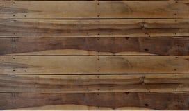 Fondo de madera de la textura de Brown Imagenes de archivo
