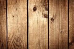 Fondo de madera de la textura de Brown Fotografía de archivo