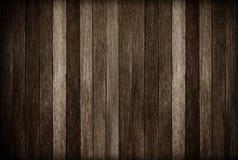 Fondo de madera de la textura de la pared; Viejo fondo de madera oscuro Fotografía de archivo libre de regalías