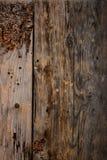 Fondo de madera de la textura de la puerta de granero del viejo vintage Imágenes de archivo libres de regalías