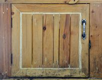 Fondo de madera de la textura de la ventana Imagenes de archivo