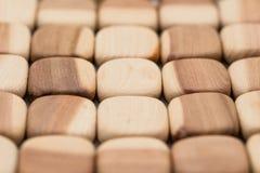 Fondo de madera de la textura de los bloques Imagenes de archivo