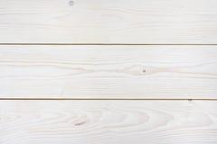 Fondo de madera de la textura de los paneles blanqueados Foto de archivo libre de regalías