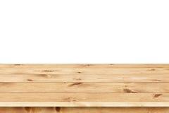 Fondo de madera de la textura de los tableros naturales del pino Foto de archivo libre de regalías