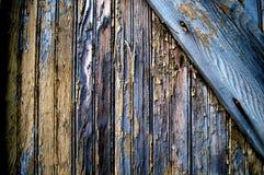 Fondo de madera de la textura del edificio viejo Imagen de archivo libre de regalías