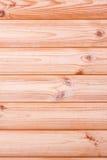 Fondo de madera de la textura del marrón del tablón Fotografía de archivo libre de regalías