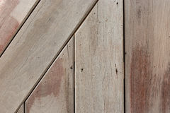 Fondo de madera de la textura del marrón del tablón Imagenes de archivo