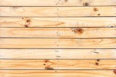 Fondo de madera de la textura del marrón del tablón Fotos de archivo libres de regalías