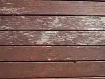Fondo de madera de la textura del marrón del tablón Imagen de archivo libre de regalías