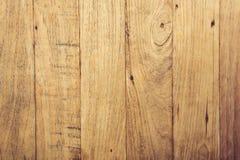 Fondo de madera de la textura del marrón amarillo Fotografía de archivo