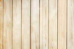 Fondo de madera de la textura del marrón del tablón del pino Imagenes de archivo