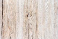 Fondo de madera de la textura del tablón en color marrón claro Fotografía de archivo libre de regalías