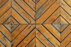 Fondo de madera de las puertas Fotografía de archivo libre de regalías