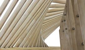 Fondo de madera de las torsiones de los tablones de la textura Imagen de archivo libre de regalías