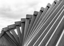 Fondo de madera de las torsiones de los tablones de la textura Imágenes de archivo libres de regalías