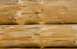 Fondo de madera de los registros Foto de archivo libre de regalías