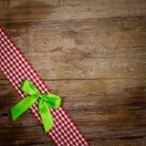 Fondo de madera de Navidad imagen de archivo
