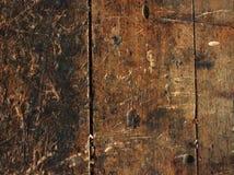 Fondo de madera del banco de trabajo Imagenes de archivo