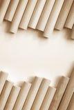 Fondo de madera del cilindro Fotos de archivo libres de regalías