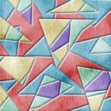 Fondo de madera del cubismo Foto de archivo
